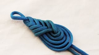 getlinkyoutube.com-Learn How To Tie A Decorative Paracord Teardrop Knot/Pipa Knot