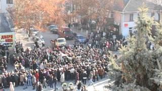 Orasul indurerat de tragedia din Glodeni