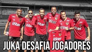 ADIDAS NO SÃO PAULO JUKANALHA DESAFIA JOGADORES