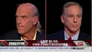getlinkyoutube.com-Jesse Ventura S.E. Cupp Heated Debate on CNN Crossfire Panel - 10/4/13