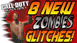8 NEW Zombies Glitches! - Shadows of Evil Pile-Ups & Invincible Spots (Black Ops 3/BO3 Glitch)