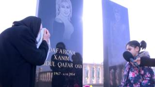 A dan Z ye Xanim Qafarovanin qizi hamini aglatdi