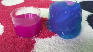 getlinkyoutube.com-How to make slime without borax, glue, and liquid starch!!!