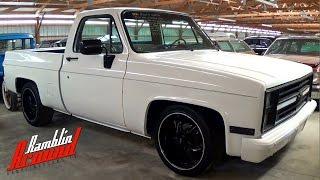 getlinkyoutube.com-1986 Chevrolet C10 Shortbed Lowered Pickup