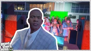 getlinkyoutube.com-FRANKLIN GETS INVITED TO VIP PARTY (GTA 5 GAMEPLAY)