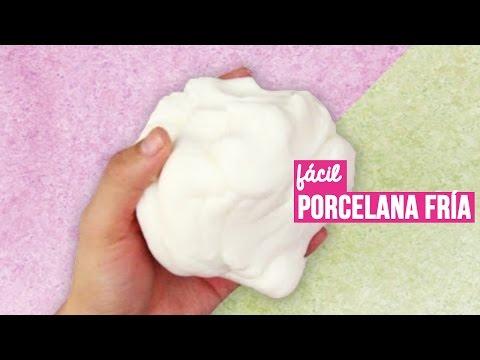 Como hacer Porcelana Fría casera (receta) // Cold porcelain recipe