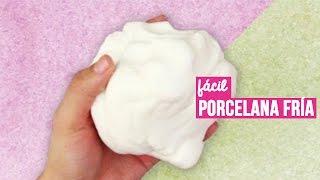 getlinkyoutube.com-Como hacer Porcelana Fría casera (RECETA FÁCIL) // Cold porcelain recipe