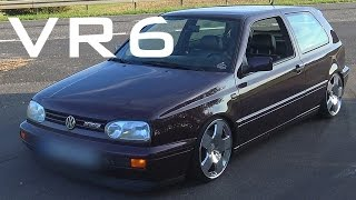 VW Golf 3 VR6 - Sound Accelerations Onboard Autobahn [0-240 Km/h]