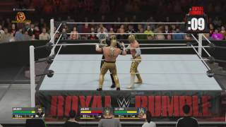 getlinkyoutube.com-WWE Royal Rumble 2016 Match HD (2K16)