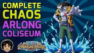 Walkthrough for the Complete Chaos Arlong Coliseum [One Piece Treasure Cruise]