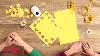 getlinkyoutube.com-DIY Shooting Star Garland Craft | American Girl