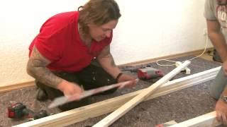 getlinkyoutube.com-BAUHAUS TV - DIE WENDES Handwerker mit Herzblut - Folge 9: Projekt TV-Wall