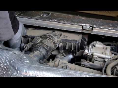 Mercedes Smart Fortwo 451 Смарт Форту 2010 года 0,8 дизель Замена масла и фильтров