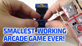 getlinkyoutube.com-SMALLEST WORKING ARCADE GAME EVER!!!