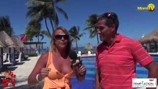 getlinkyoutube.com-Jenny Scordamaglia in Cancun Temptation Resort - Adults Topless Optional Resort - MiamiTV