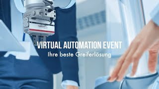 Click to view Europe Virtual Automation Event: Your Best Gripping Solution - DE