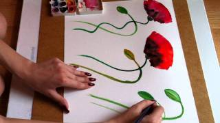 getlinkyoutube.com-The Poppy Spree - Stems and bulbs