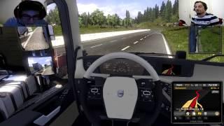 getlinkyoutube.com-Euro Truck Simulator 2 Türkçe Multiplayer | Dehşet Kaza ve Bug