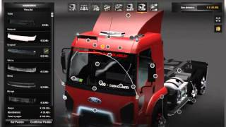 getlinkyoutube.com-Ford Cargos para o ets2 v1.3.1