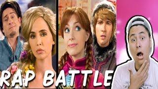getlinkyoutube.com-RAPUNZEL vs ANNA: Princess Rap Battle