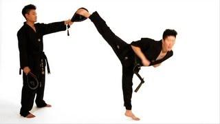 How to Do a Spinning Hook Kick | Taekwondo Training