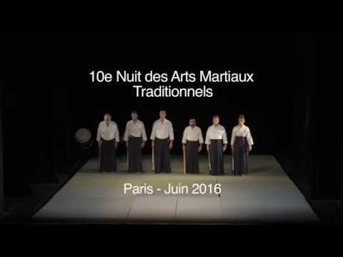 NAMT 2016 - Démonstration d'aikido avec André Cognard