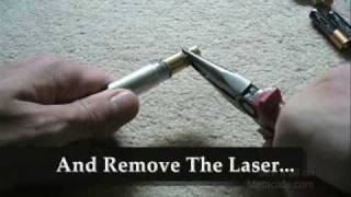 getlinkyoutube.com-HOW TO TURN A 5MW LASER INTO A 100MW LASER