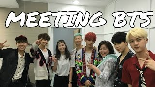 getlinkyoutube.com-The Day I MET BTS (방탄소년단) at KBS!!! + Getting a signed album! [FULL STORY]