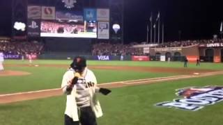 Lil Wayne - Take Me Out to the Ball Game live @ San Francisco