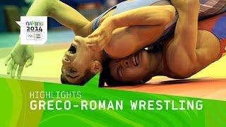 getlinkyoutube.com-Men's Greco Roman Wrestling Qualification - Highlights | Nanjing 2014 Youth Olympic