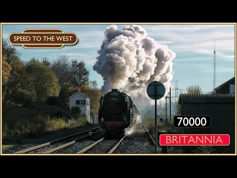 Britannia storms Wales - The Cathedrals Express - 23/11/13