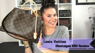 getlinkyoutube.com-Louis Vuitton Montaigne MM Review 2015