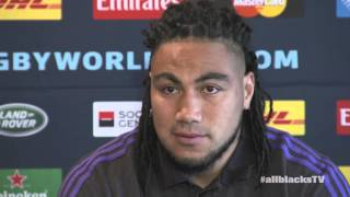 Steve Hansen and Ma'a Nonu media conference
