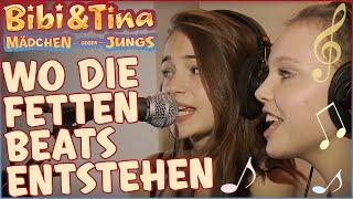 getlinkyoutube.com-Bibi & Tina 3 - Wo die fetten Beats entstehen - Mädchen Gegen Jungs