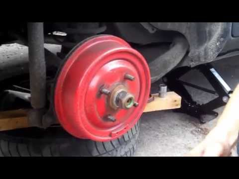 Замена заднего ступичного подшипника Форд Сиерра (Ford Sierra)
