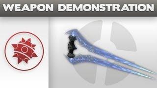 getlinkyoutube.com-Weapon Demonstration-Covenant Energy Sword
