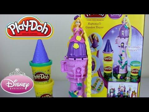 Plastilina Play-DohTorre de Rapunzel |Play-Doh Rapunzel's Garden Tower