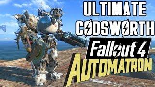 getlinkyoutube.com-ULTIMATE CODSWORTH! | Fallout 4 Automatron