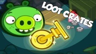 getlinkyoutube.com-Bad Piggies - NEW CUSTOM CONTRAPTIONS (Hidden Loot Crates)