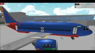 getlinkyoutube.com-Southwest plane crash-ROBLOX