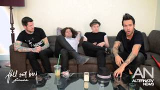 getlinkyoutube.com-Fall Out Boy Interview - Alternativ News - Paris (August 2013)