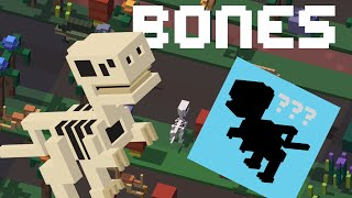 getlinkyoutube.com-CROSSY ROAD Bones Unlock | New Secret Characters | Dinosaur Update - September 2016
