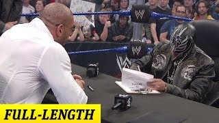 getlinkyoutube.com-Rey Mysterio and Batista's Survivor Series 2009 Contract Signing
