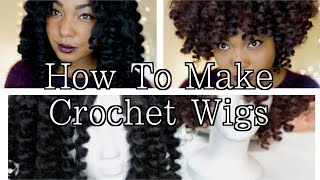 getlinkyoutube.com-How To Make Crochet Wigs: Natural Hair Protective Style