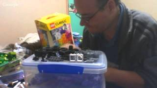 getlinkyoutube.com-Box 10697 opening and   lego talk  discusion lego Xtra large color rainbow bricks