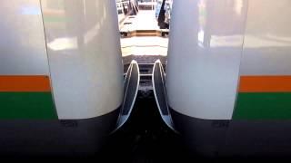 E233系3000番台の転落防止放送
