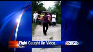 alice tx~police investigate teen fight caught on video