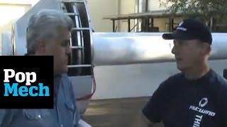 getlinkyoutube.com-Jay Leno's Green Garage: Wind Turbines | PopMech