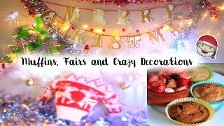getlinkyoutube.com-▲Muffins, Fairs and Crazy Decorations | Vlogmas Day 3▼