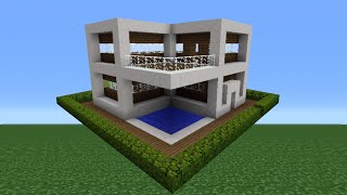 Minecraft Tutorial: How To Make A Quartz House - 8